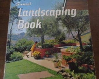 Sunset Landscaping Book 1968 Revised Edition Lane Books Menlo Park California