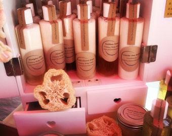 Custom organic sulfate & paraben free shampoo
