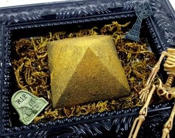 Tomb, Ancient Incense Scented Pyramid Bath Bomb!