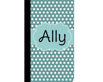 Monogram  Flip Case | Personalized Wallet Case | Sorority Gift | Personalized iPhone | Greek Letters | iPhone Wallet Case