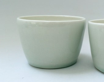 Light Celadon Cup, Gobelet, Mug