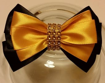 "4,5"" Unique Beautiful Hair Bow"
