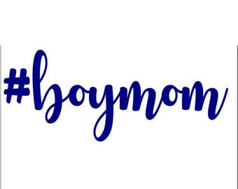 Boy Mom SVG Cutting File #boymom Mom Bag Shirt Design Silhouette Cricut Cutting File