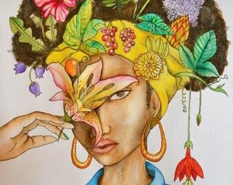 MINDFULL // print // floral