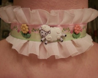 Happy Sheep Choker
