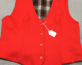 Reversible Vest Ladies Size Small