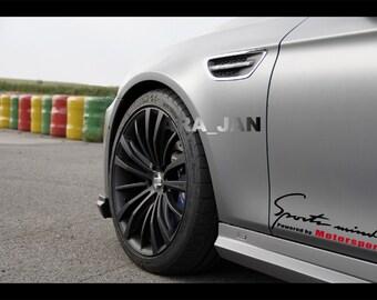 Lexus Motorsport Etsy - Lexus custom vinyl decals for car