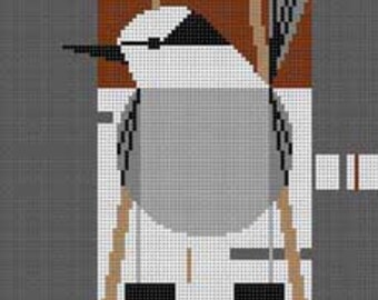 Who's Watching Whom? Needlepoint Pattern