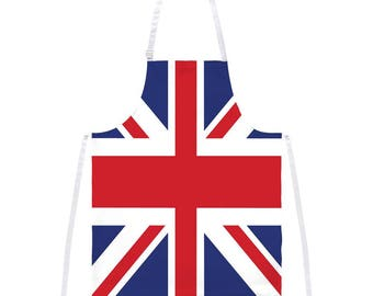 British Flag Union Jack All Over Apron