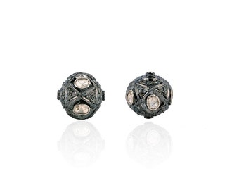 SDC-1266 Bead diamond charm