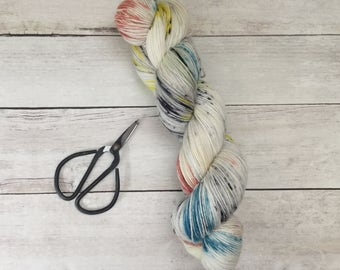 Ready to Ship - Hand Dyed Yarn - Kaleidoscope