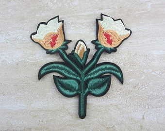 YELLOW FLOWER Embroidery Patch Iron On