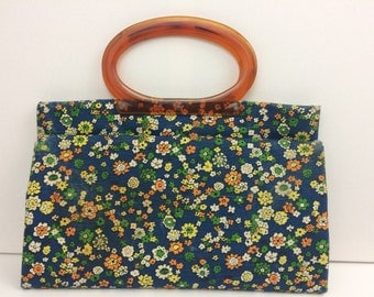 1970s Flower Power Purse