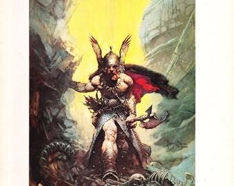Frank Franzetta: Book Two 1977 1st U.S. Edition Paperback