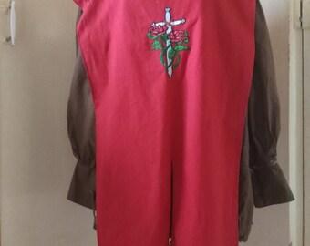 Crowan Rose tabard - USED - LARP Costume