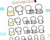 me time emotis - emoti planner stickers E003