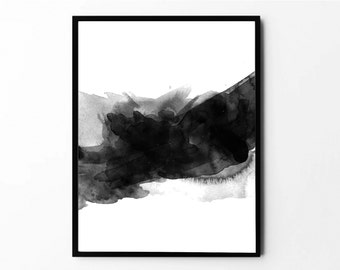 Minimalist, Abstract Paint, Black and White, Wall Art, Home Decor, Minimalist Prints, Printable Art, Abstract Art, Minimalist Wall Decor