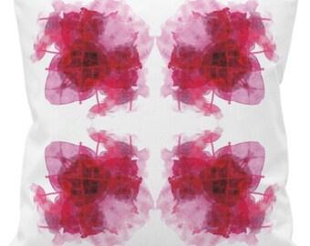 Abstract Hand Printed Cushion