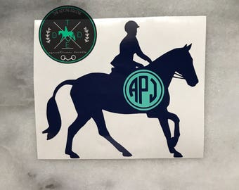 Cantering Horse | Design 3 | Hunter Jumper - Show Jumper - English - Equestrian Sticker