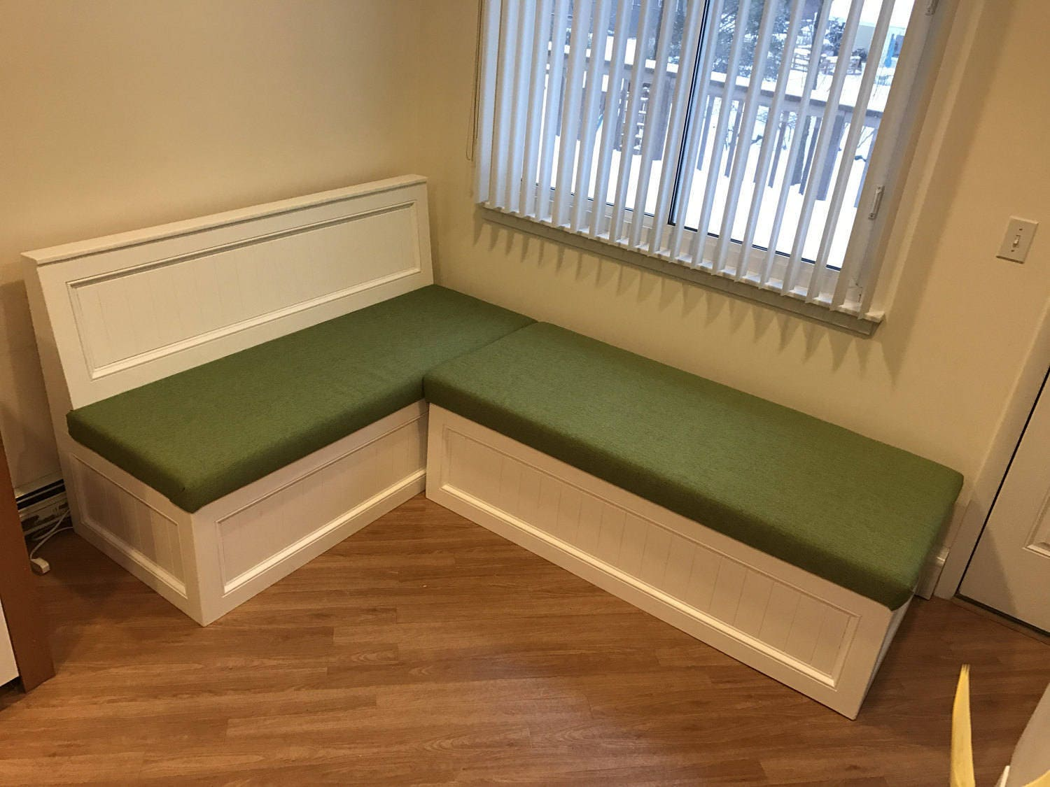 Corner Bench Kitchen Seating L Shaped Bench Breakfast Nook