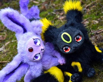 Umbreon and Espeon Pokémon Evolution Eevee