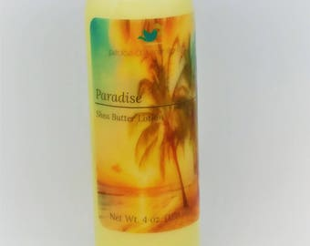 Paradise Shea Butter Lotion