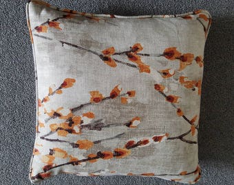 Harlequin Cushion  Cover in Solace Tangerine