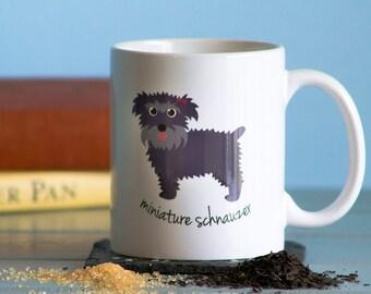 Miniature Schnauzer Mug (girl)