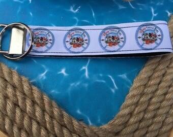 Disney Cruise, Fish Extender Key Fob, DCL Life Preserver Emblem