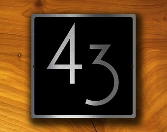 HOUSE NUMBERS MODERN, Outdoor House Sign, Custom House Numbers, House Numbers, Modern House Numbers, House Number Sign, house number Plaque