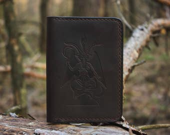 "Passport cover ""Baphomet"""