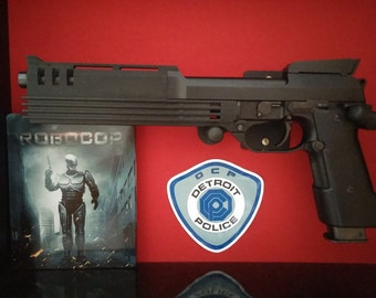 Robocop AUTO-9 pistol highly Detailed display Replica with working slide