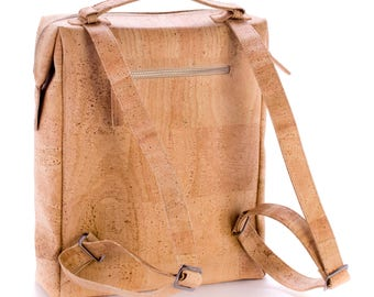 Cork backpack, laptop backpack