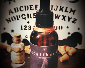 Excalibur Oil | Commanding Oil | Witchcraft | Domination | Potion | Ritual Oil | Dark Magick | King Arthur | Wiccan | Pagan