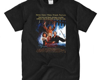 The Princess Bride Movie Poster - Black T-shirt