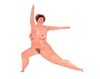 Yoga Buffs: Warrior Pose