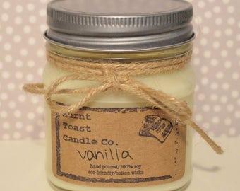 8oz Vanilla Soy Candle