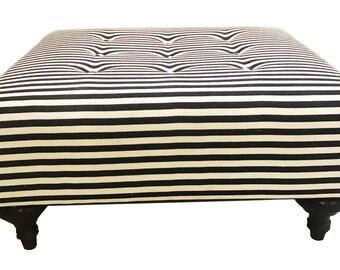 ArtisTree Upholstered Ottoman