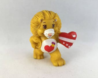 Care Bears Bisounours Brave Heart Lion Miniature 80'