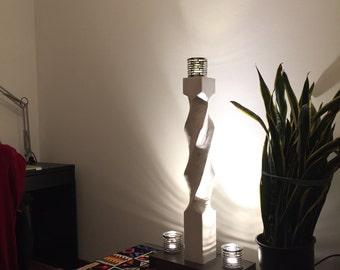 OCCASION! artistic handicraft, modern twist lamp column, antique effect, farm, restaurant, bars, pubs, point lunce, sound
