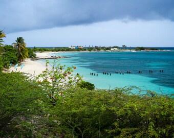 Tropical Beach Photo on Canvas