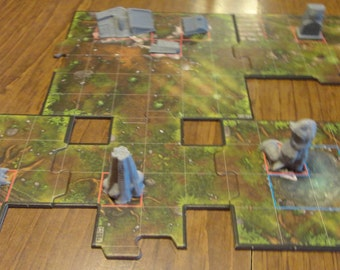 Imperial Assault Game Gear:  Forest Map Obstacles and Terrain