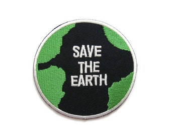 Save the Earth patch