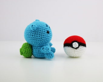 Made to Order - Kawaii Pokemon Amigurumi Doll - Crochet - Bulbasaur