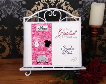 Leave a comment for hardcover in spiral binding * personalized with name * 23 x 29 cm