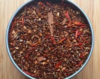 Cinnamon Safflower Herbal Loose Leaf Tea & Hand Filled Tea Bags