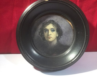 Rare Early Victorian Actors Miniature