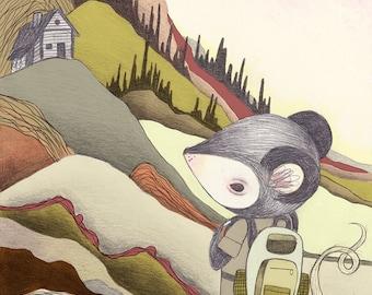 "Maus Print ""Cabin"""