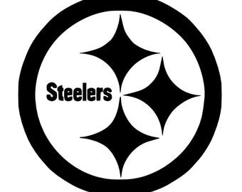 Pittsburg Steelers Vinyl Decal