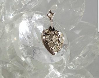 Victorian antique heart pendant